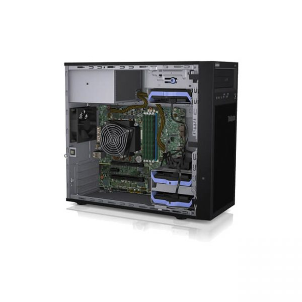 foto-servidor-ThinkSystem-ST50-aberto