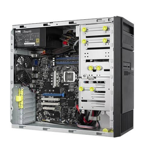 servidor-asus-TS100-perfil-aberto